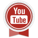 Youtube Round Ribbon-128