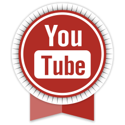 Youtube Round Ribbon