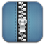 Zip Blue icon