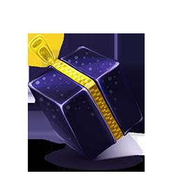 Zipper cube